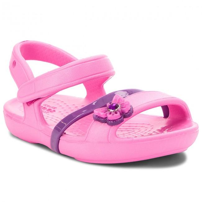 863af233415e Sandals CROCS - Lina Sandal Kids 205043 Party Pink - Sandals - Clogs ...