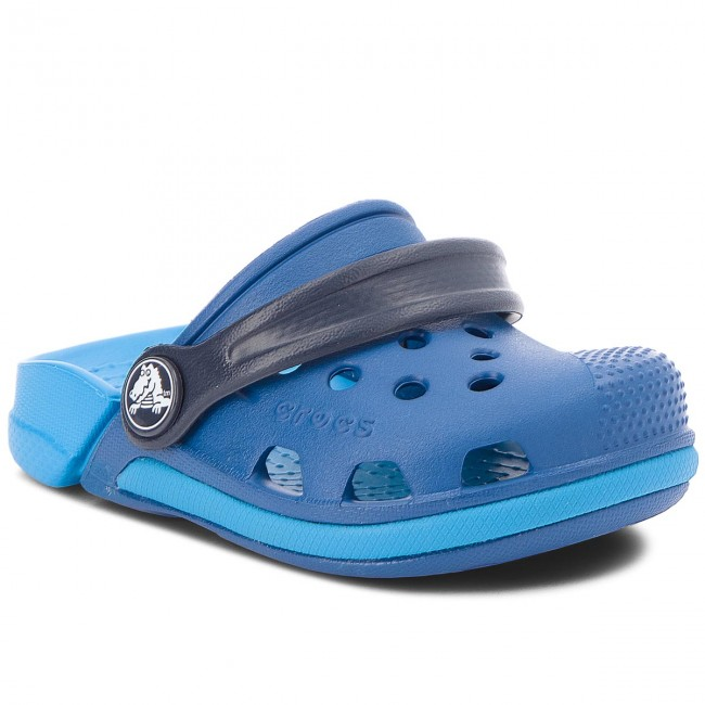 27afd5504 Slides CROCS - Electro III Clog K 204991 Blue Jean Ocean - Clogs and ...