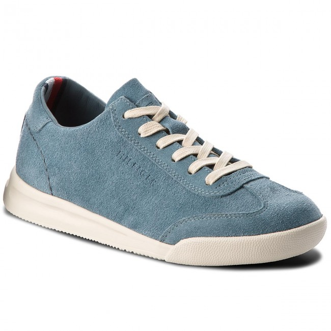 1e402c21f Sneakers TOMMY HILFIGER. Casual Suede Low Cut Sneaker FM0FM01423 Jeans 013