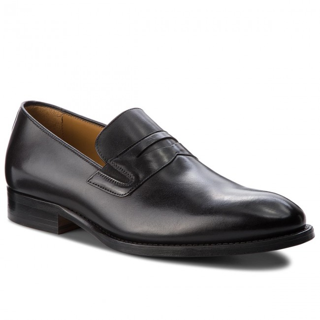 7530611eb399 Shoes TOMMY HILFIGER - Classic Tailored Loafer FM0FM01541 Black 990 ...