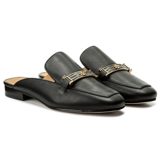 ebd6f3bb297d Slides TORY BURCH - Amelia Backless Loafer 48282 Perfect Black 006 - Casual  mules - Mules - Mules and sandals - Women s shoes - www.efootwear.eu