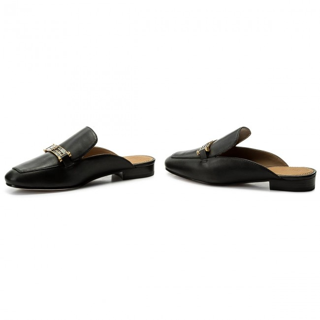 f752dd4d87ad Slides TORY BURCH - Amelia Backless Loafer 48282 Perfect Black 006 ...