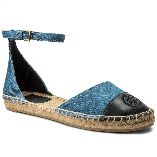 438db6ac717 Espadrilles TORY BURCH - Color Block Ankle-Strap Espadrille 46769 ...