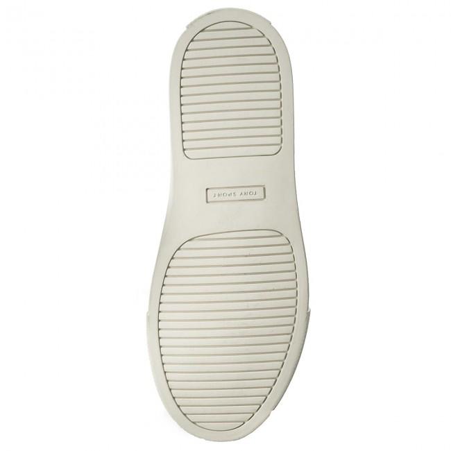 7febe58a2f2 Sneakers TORY BURCH - Ruffle Sneaker 36558 Navy Sea Navy Sea Snow White 400  - Sneakers - Low shoes - Women s shoes - www.efootwear.eu