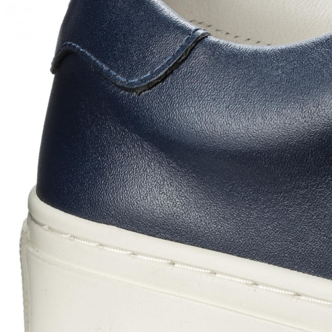 c099aa7d9f3 Sneakers TORY BURCH - Ruffle Sneaker 36558 Navy Sea Navy Sea Snow White 400