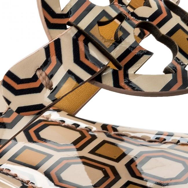 6c6518f5cbf82f Slides TORY BURCH - Miller 40173 Ballet Pink Octagon Square 672 ...