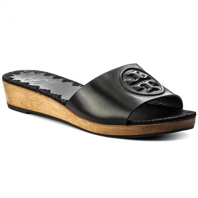 dc04222ba4d1 Slides TORY BURCH - Patty 46620 Perfect Black 006 - Casual mules ...