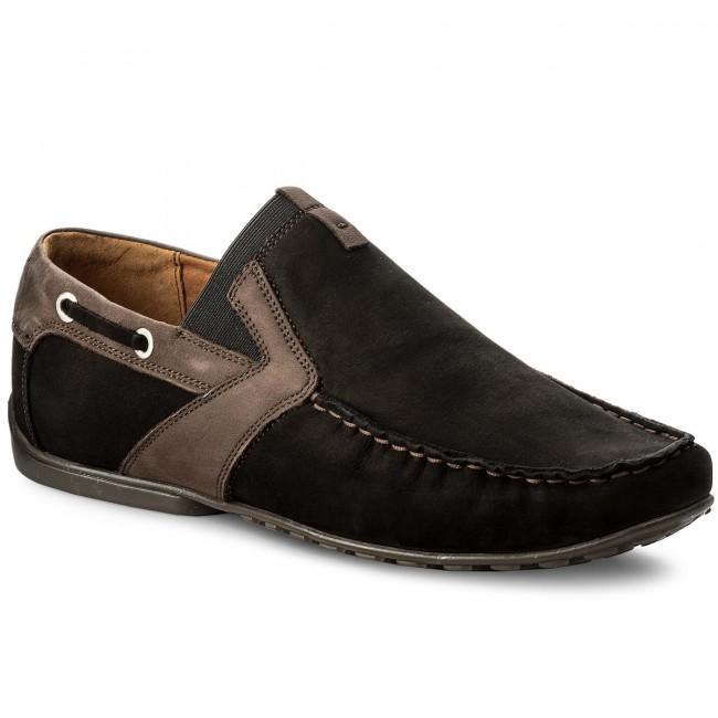 shoes Black 01 5 03 Low Moccasins 03 NIK Casual 41 0358 wvnTqH