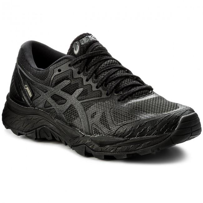 5d1dc23689ef6 Shoes ASICS - Gel-FujiTrabuco 6 G-TX GORE-TEX T7F5N Black Black ...