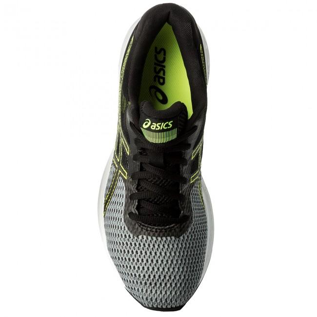 Shoes ASICS Gel Phoenix 9 T822N Stone GreyBlackSafety Yellow 1190