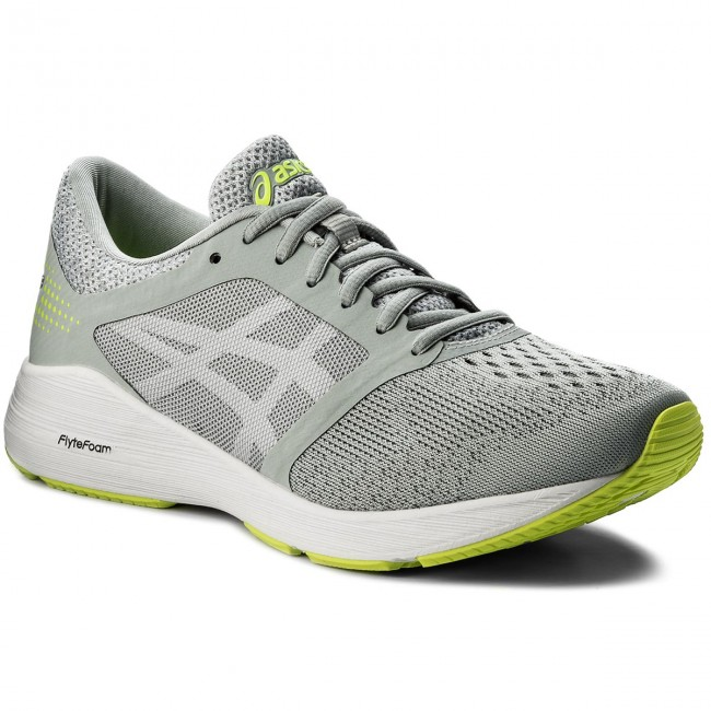 Chaussures ASICS RoadHawk Grey FF/ T7D2N Mid White Grey/ White/ Safety Yellow 9601 521388a - kyomin.website