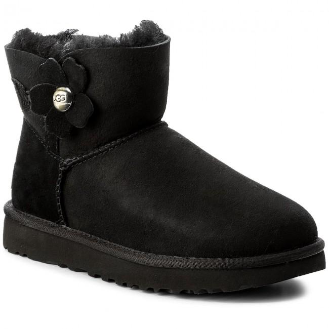 Schuhe UGG W Mini Bailey Button Bling Serein 1014976 WSygr