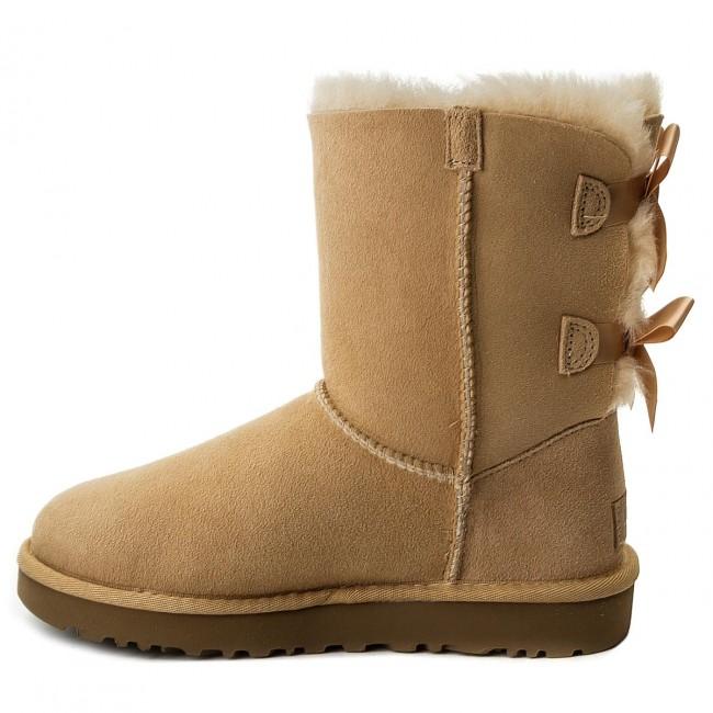 Schuhe UGG - W Bailey Bow II 1016225 W/Soch EQfXFHv