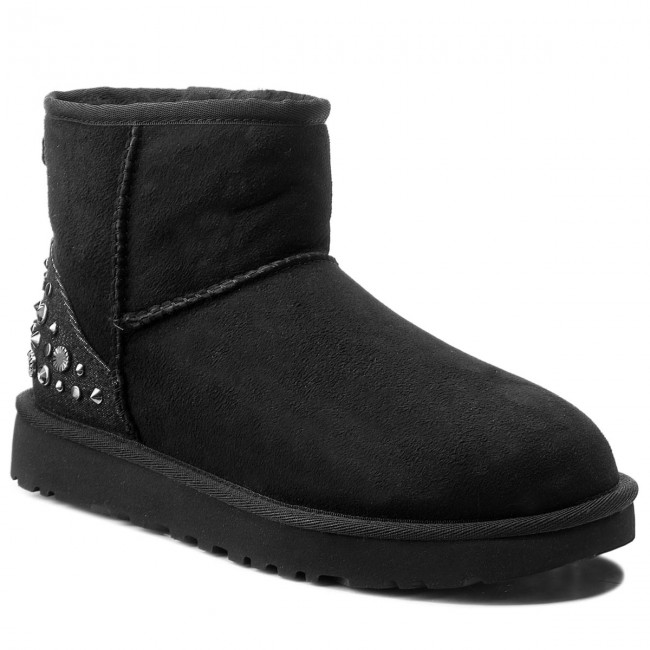 High Ugg Studded W Boots Mini 1091350 Bling Shoes Wblk 1S04xq4