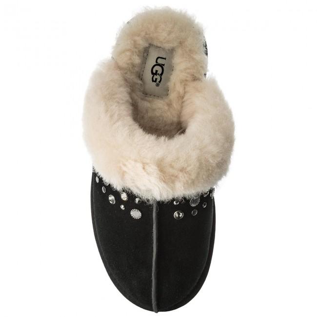 f7ef12184ef01d Slippers UGG - W Scuffette II Studded Bling 1092306 W Blk - Slippers -  Mules and sandals - Women s shoes - www.efootwear.eu