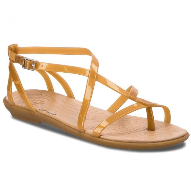 3c560c73c489 Sandals CROCS - Isabella Gladiator Sandal W 204914 Dark Gold Gold ...