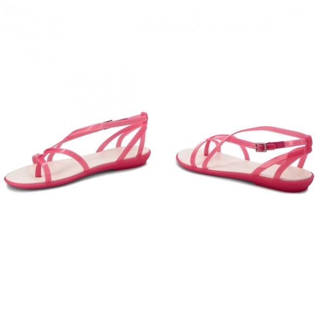 d0efcdde4815 Sandals CROCS - Isabella Gladiator Sandal W 204914 Paradise Pink Oyster