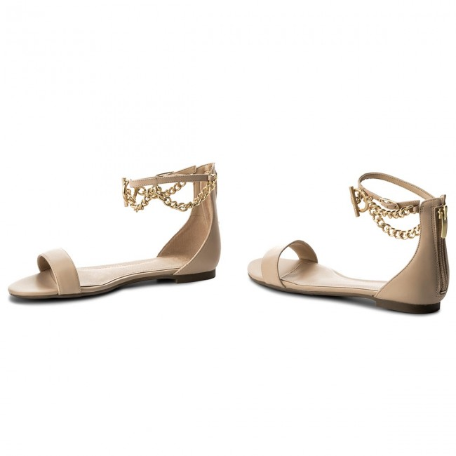 Sandals GUESS - Ronalda FLRON2 LEA03 NUDE - Casual sandals - Sandals -  Mules and sandals - Women s shoes - www.efootwear.eu a852cd0161