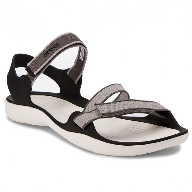 c055dcd75efc Sandals CROCS - Swiftwater Webbing Sandal W 204804 Pearl White ...