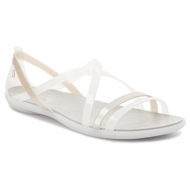68c2ea2acbc5 Sandals CROCS - Isabella Strappy Sandal W 204915 Oyster Pearl White ...
