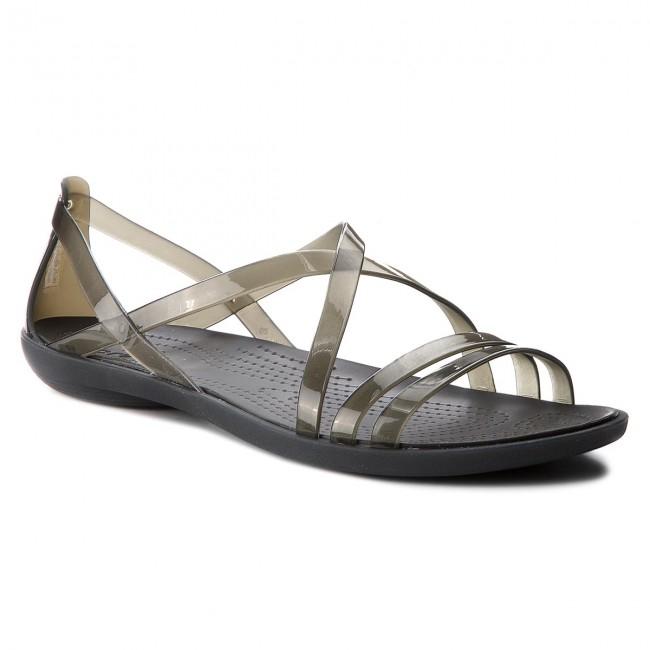 65861e822eca3 Sandals CROCS - Isabella Strappy Sandal W 204915 Black - Casual ...