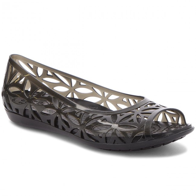 Zapatos CROCS - Isabella Jelly II Flat W 204941 Black/Black PpPMa
