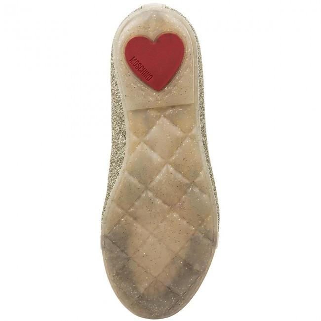 Shoes MOSCHINO - 25883 Oro - Velcro - Low shoes - Girl - Kids  shoes -  www.efootwear.eu 79627b7ecc904