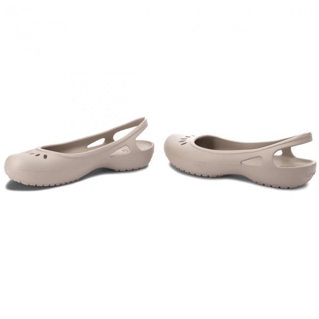 f022b15b3ca Sandals CROCS - Kadee Slingback W 205077 Platinum - Casual sandals ...