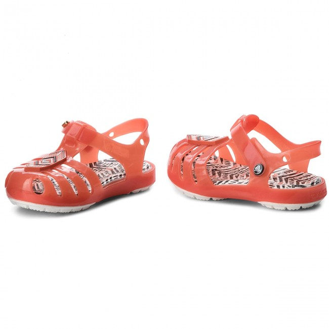 1cd116a49f1d Sandals CROCS - Drew X Crocs Isabella Sandal K 205199 Tomato White ...