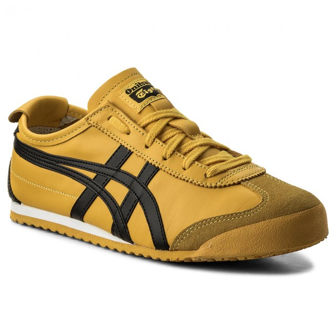 Sneakers ASICS - ONITSUKA TIGER Mexico 66 DL408 Yellow Black 0490 ... 62ae941d4c06
