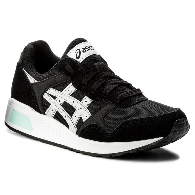 def44f472f Sneakers ASICS - Lyte-Trainer H8K2L Black glacier Grey - Sneakers ...