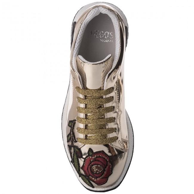 Sneakers HEGO'S MILANO - 1006 Specchio Platino Mezza Tigre MVmmc6e7