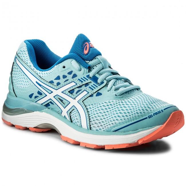 a35c05fcb30a Shoes ASICS - Gel-Pulse 9 T7D8N Porcelain Blue White Victoria Blue 1401