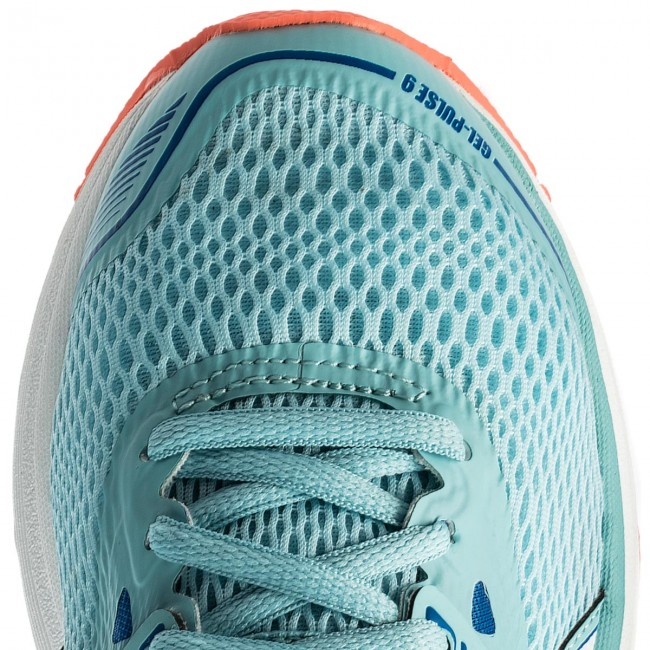 Schuhe ASICS Gel Pulse 9 T7D8N Porcelain BlueWhiteVictoria Blue 1401