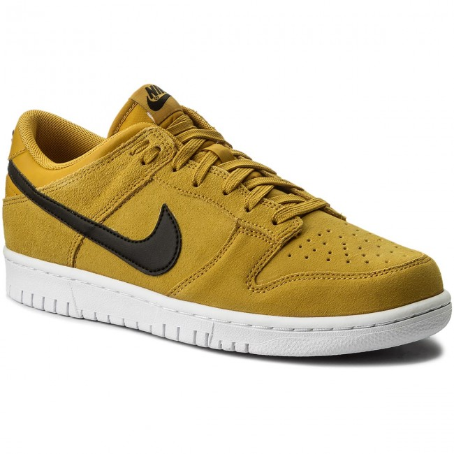 Shoes NIKE - Dunk Low 904234 700 Mineral Yellow/Black/White