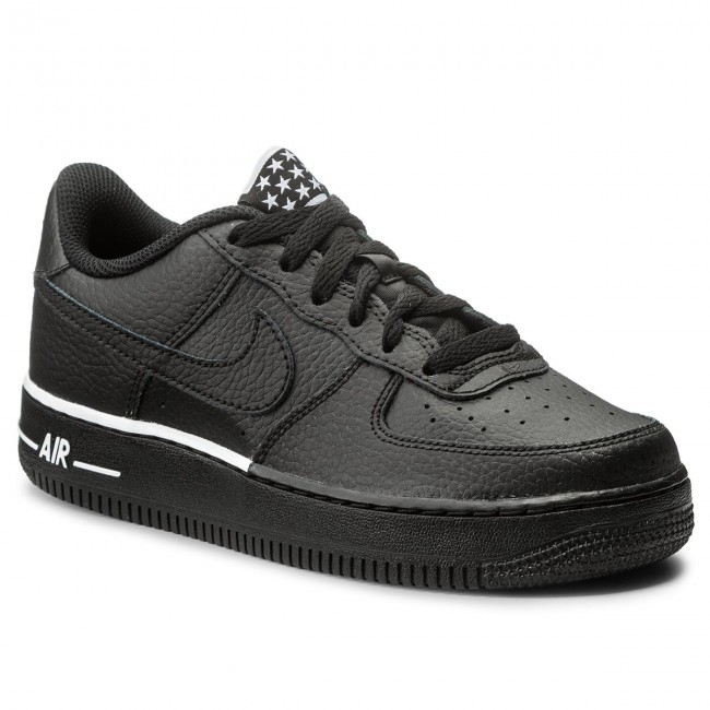 best sneakers a6e2e c7123 best Shoes NIKE - Air Force 1 (GS) 596728 036 BlackBlackWhite ...