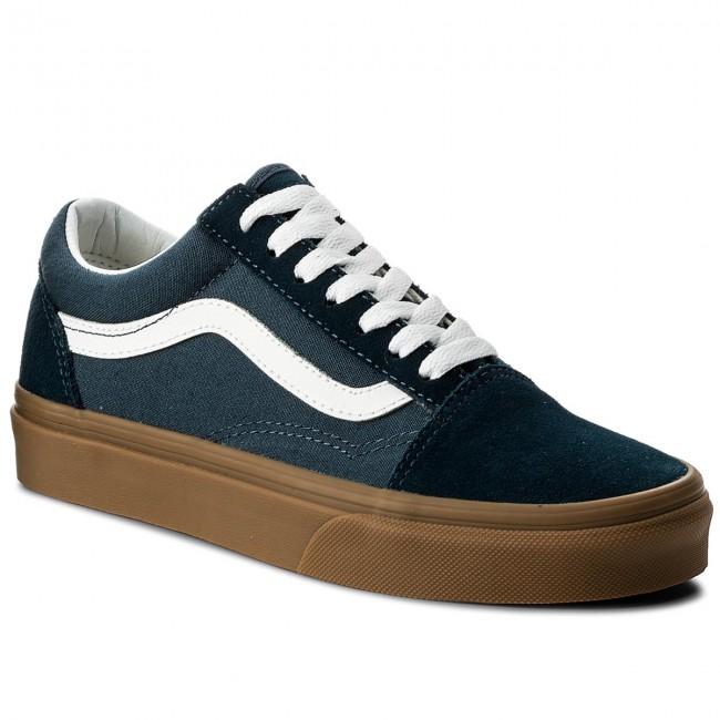 Vans Old Skool Sneaker Skate Scarpereflecting Pond/Gumvn0a38g1q60NUOVO