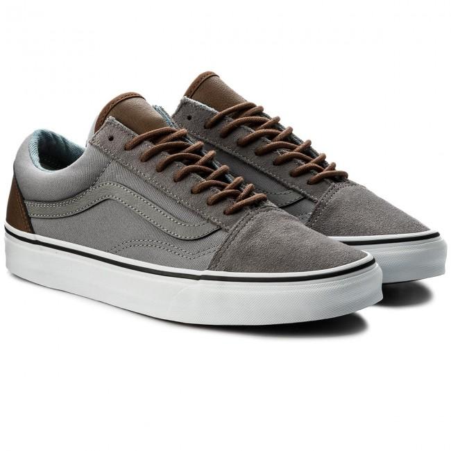 vans old skool gum sole frost grey