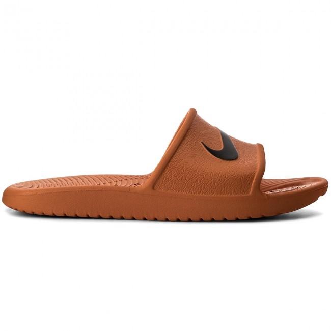 promo code 9c4ae 3a75d Slides NIKE - Kawa Shower 832528 800 Solar Orange Black - Clogs and mules -  Mules and sandals - Men s shoes - www.efootwear.eu
