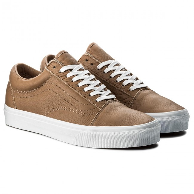 432cbe26a87 Plimsolls VANS - Old Skool VN0A38G1R0S (Leather) Tawny Brown True White -  Plimsolls - Low shoes - Men s shoes - www.efootwear.eu