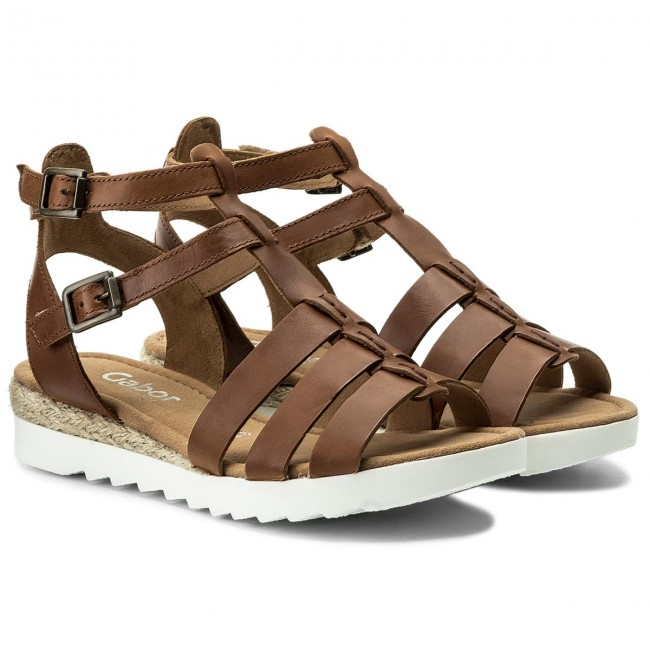be6c37fc4974 Espadrilles GABOR - 82.744.54 Peanut (Jute) - Casual sandals - Sandals -  Mules and sandals - Women s shoes - www.efootwear.eu