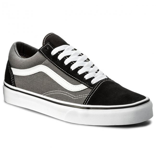 vans old skool black and grey