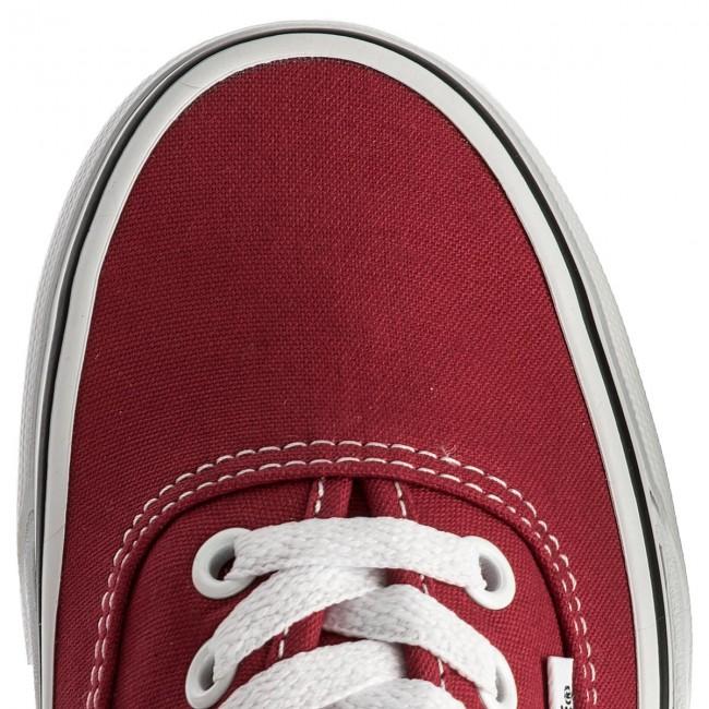 Plimsolls VANS Authentic VN0A38EMQ9U CrimsonTrue White
