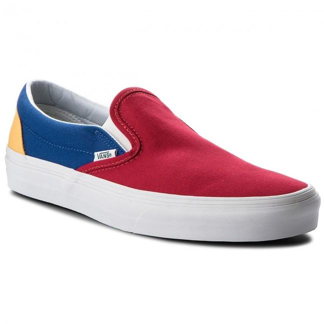 88776790be Plimsolls VANS - Classic Slip-On VN0A38F7QF2 (Vans Yacht Club) Red ...