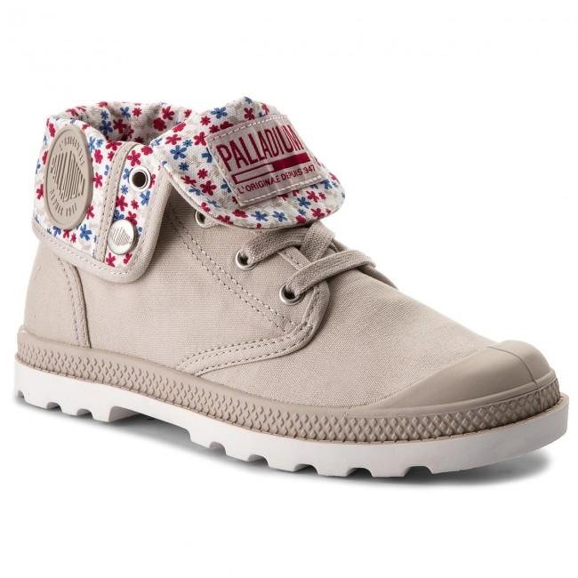 Hiking Boots PALLADIUM - Baggy Low Lp 93314-058-M Rainy Day/Marshmallow