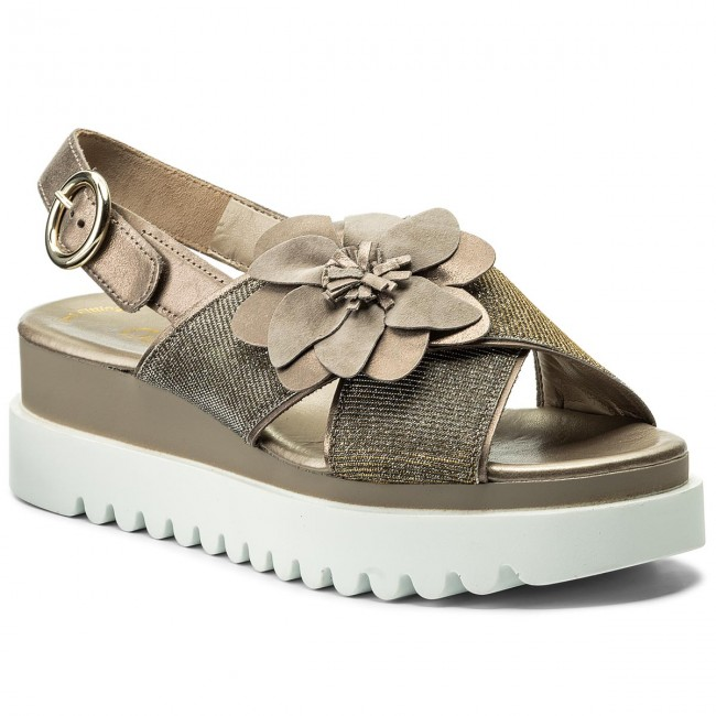 Gabor 83-616 Slingback Sandal(Women's) -Rose Metallic Fabric Outlet Cheap Quality Footlocker Pictures Online Outlet Low Price eH5VVUE3s