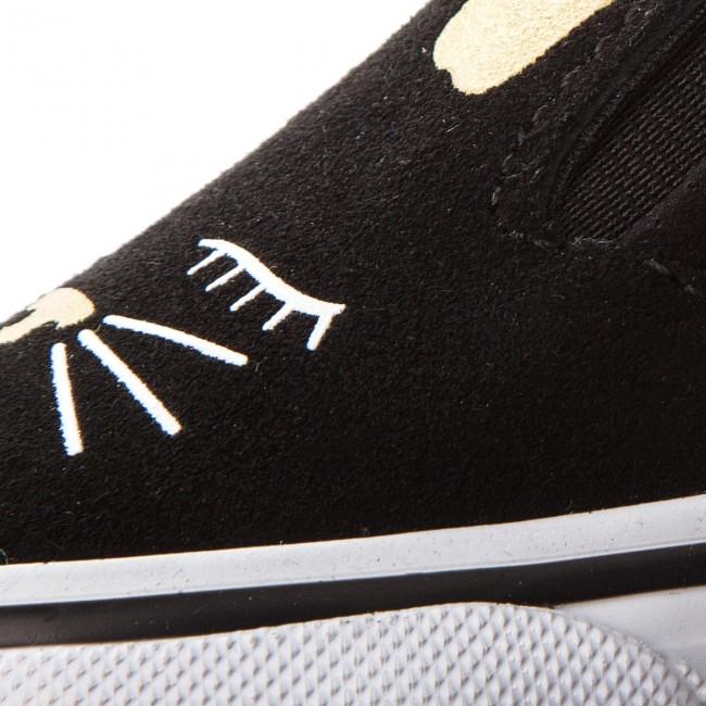 62af162aa Shoes VANS - Slip-On Bunny VN0A3MTZZX1 Black Gold - Slided shoes ...