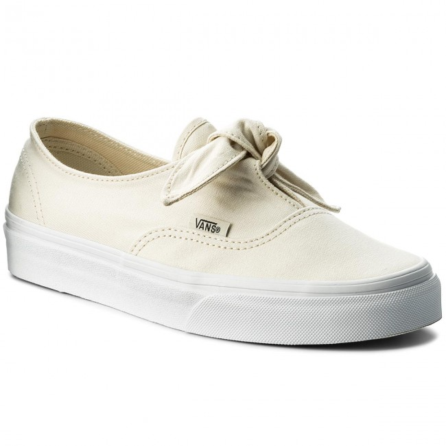 28f4025bf5 Plimsolls VANS - Authentic Knotted VN0A3MU2F8Z (Canvas) Marshmallow ...