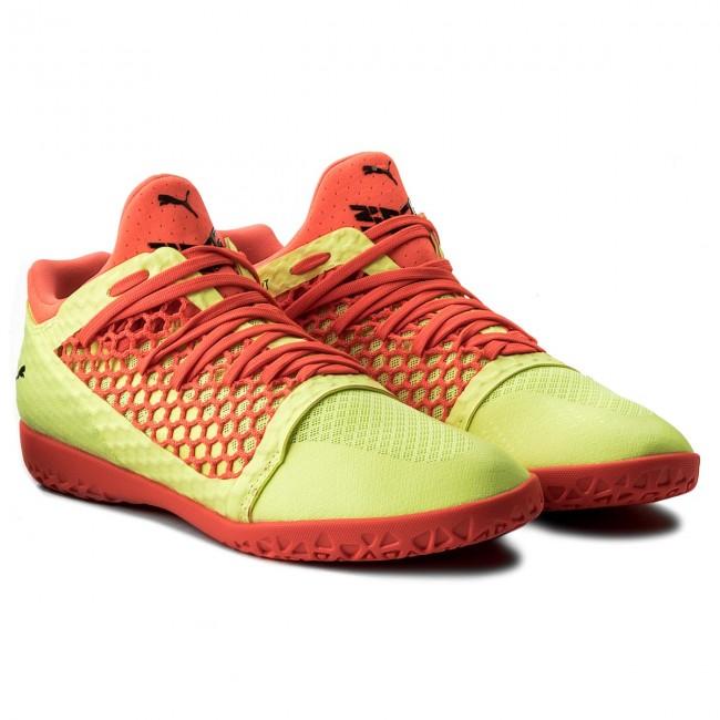 separation shoes 4cd79 5b37d Shoes PUMA - 365 NetFit Ct 104474 05 Yellow Red Black - Football - Sports  shoes - Men s shoes - www.efootwear.eu