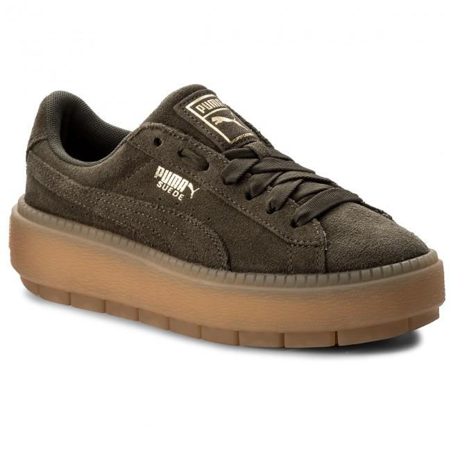 7544f8f0c427 Sneakers PUMA - Platform Trace Wn s 365830 03 Olive Night - Sneakers ...